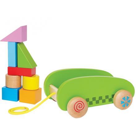 chariot a tirer jouet