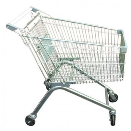chariot de supermarché