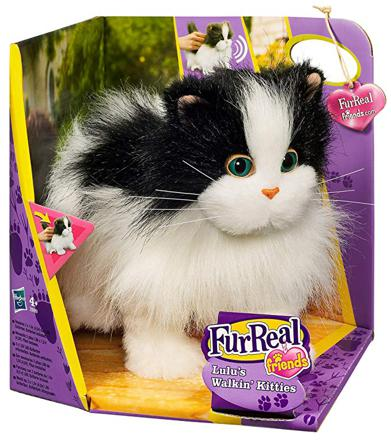 chat jouet qui marche