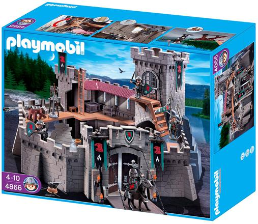 chateau playmobil 4866