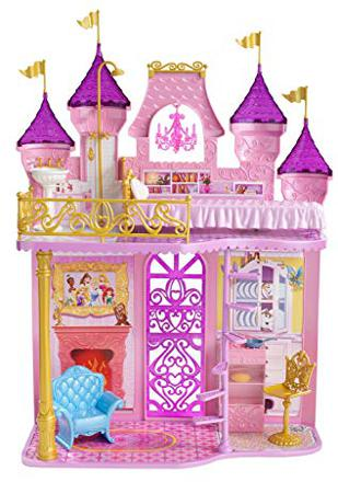 chateau princesse barbie