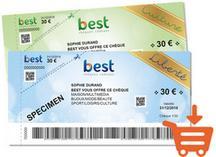 cheque best cadeaux