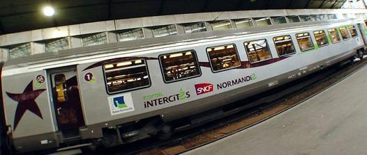 cherbourg paris train