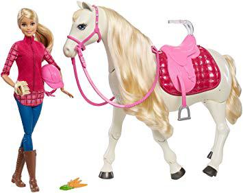 cheval de barbie