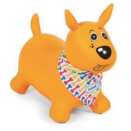 chien sauteur jaune