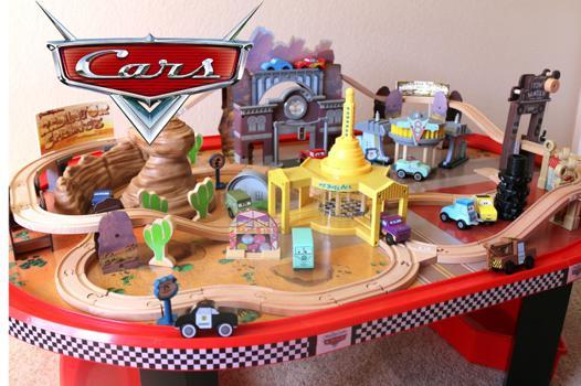 circuit cars sur table