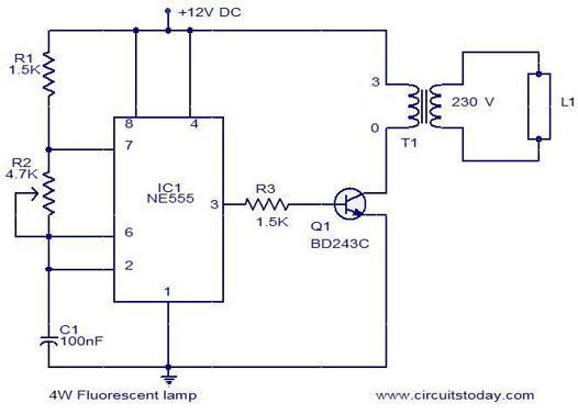 circuit fluorescent