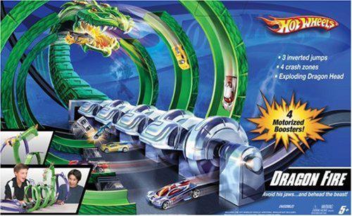 circuit hot wheels piste dragon race