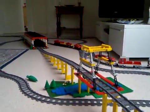 circuit train lego city