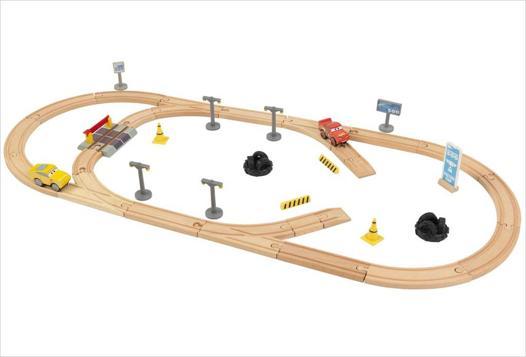 circuit voiture en bois
