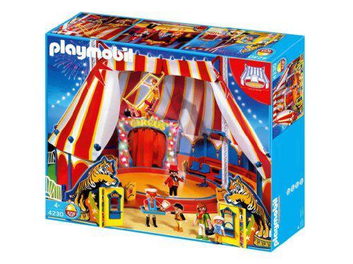 cirque playmobil 4230