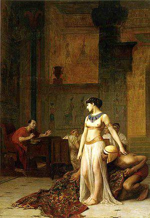 cleopatre cesar