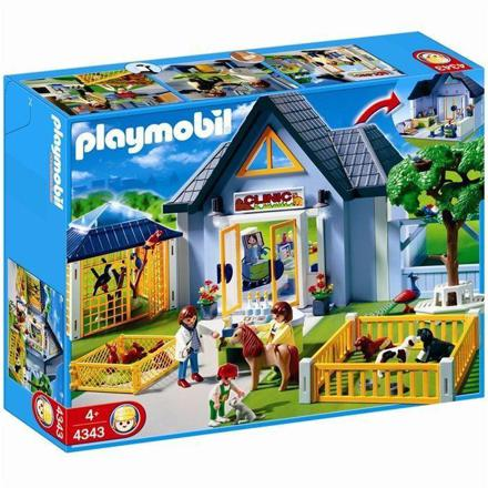 clinique veterinaire playmobil