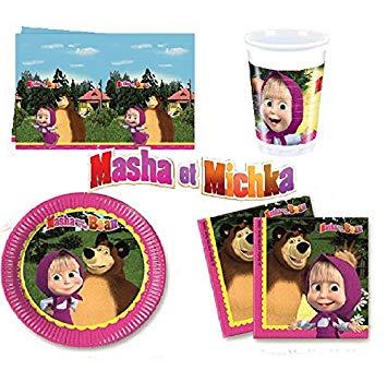 decoration masha et michka