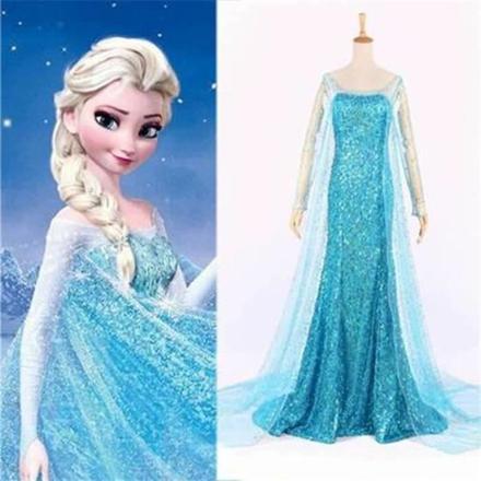 déguisement femme reine des neiges