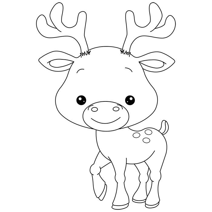 dessin de bébé animaux