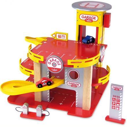 grand garage voiture jouet