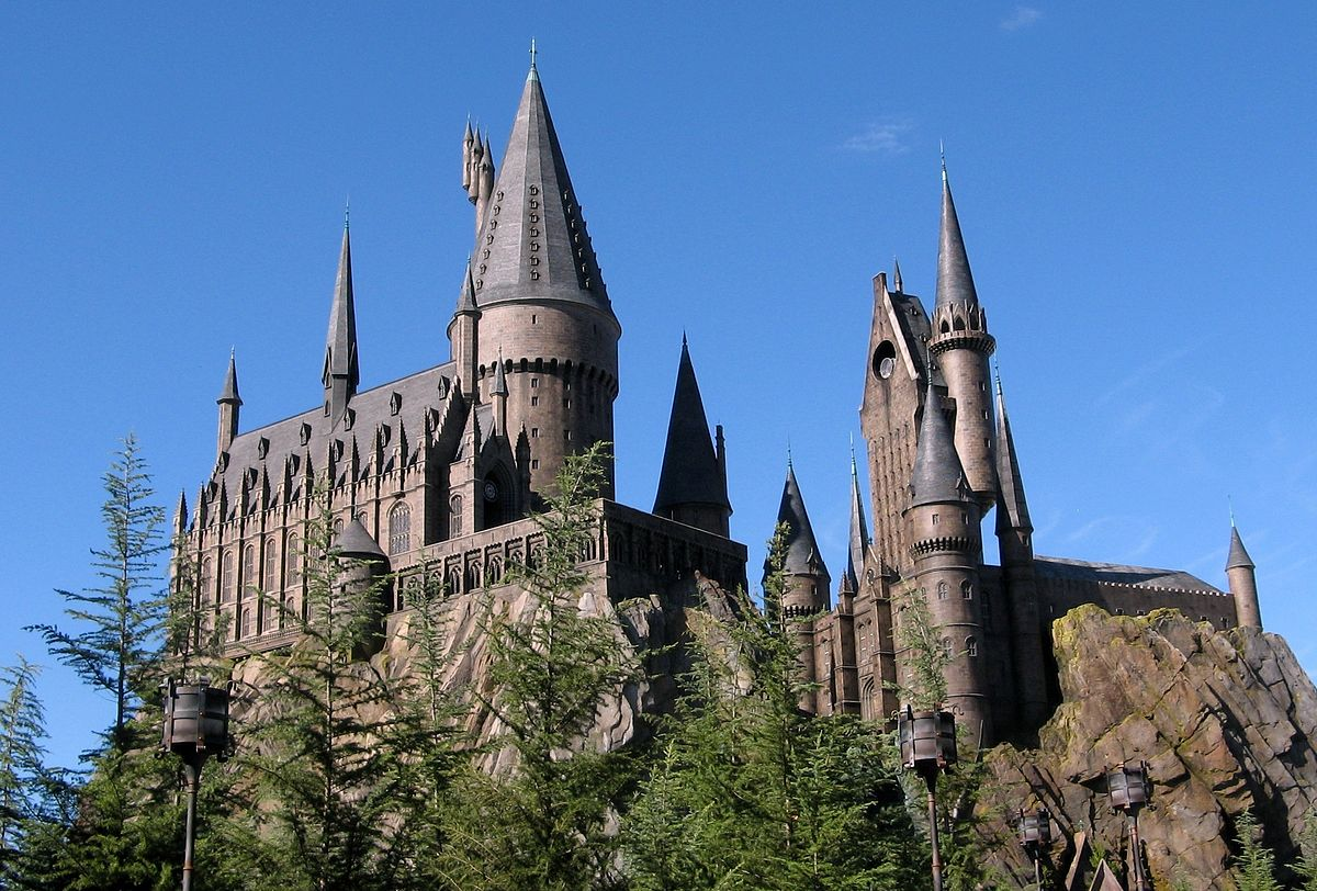 harry potter chateau