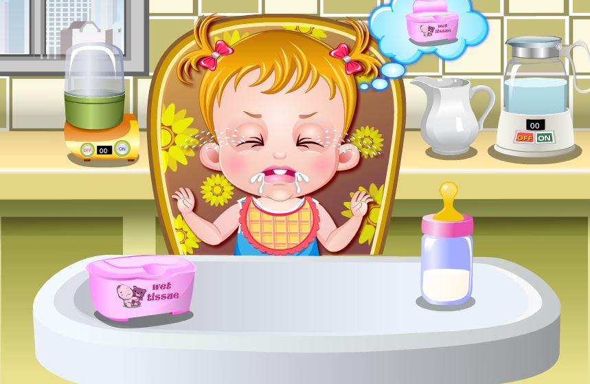 jeux de bébé de fille