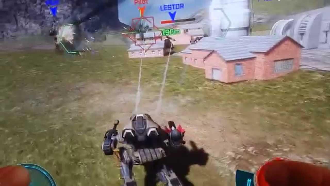 jeux de guerre de robot