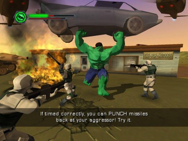 le jeu de hulk