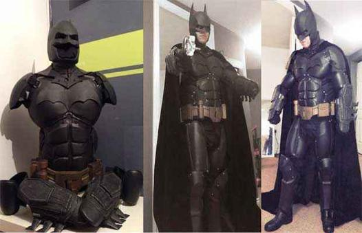 le vrai costume de batman