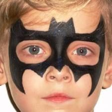 maquillage batman facile