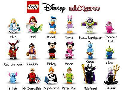 minifigures lego disney