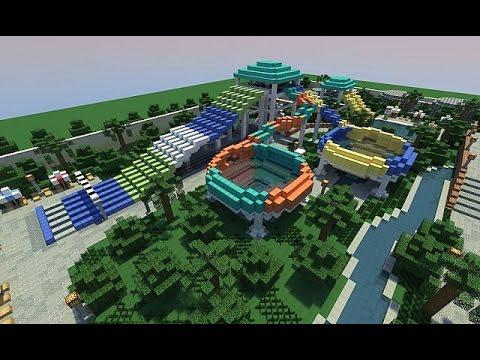 parc aquatique minecraft