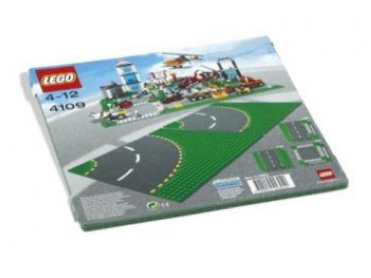 plaque route lego