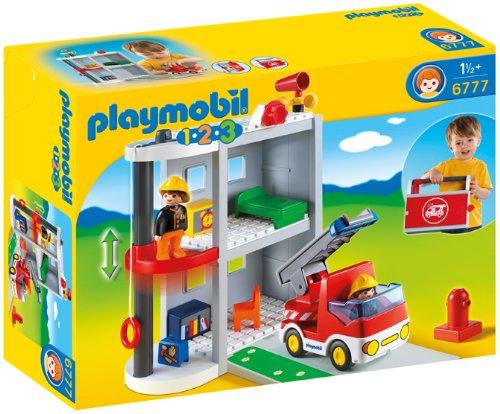 playmobil 123 pompier