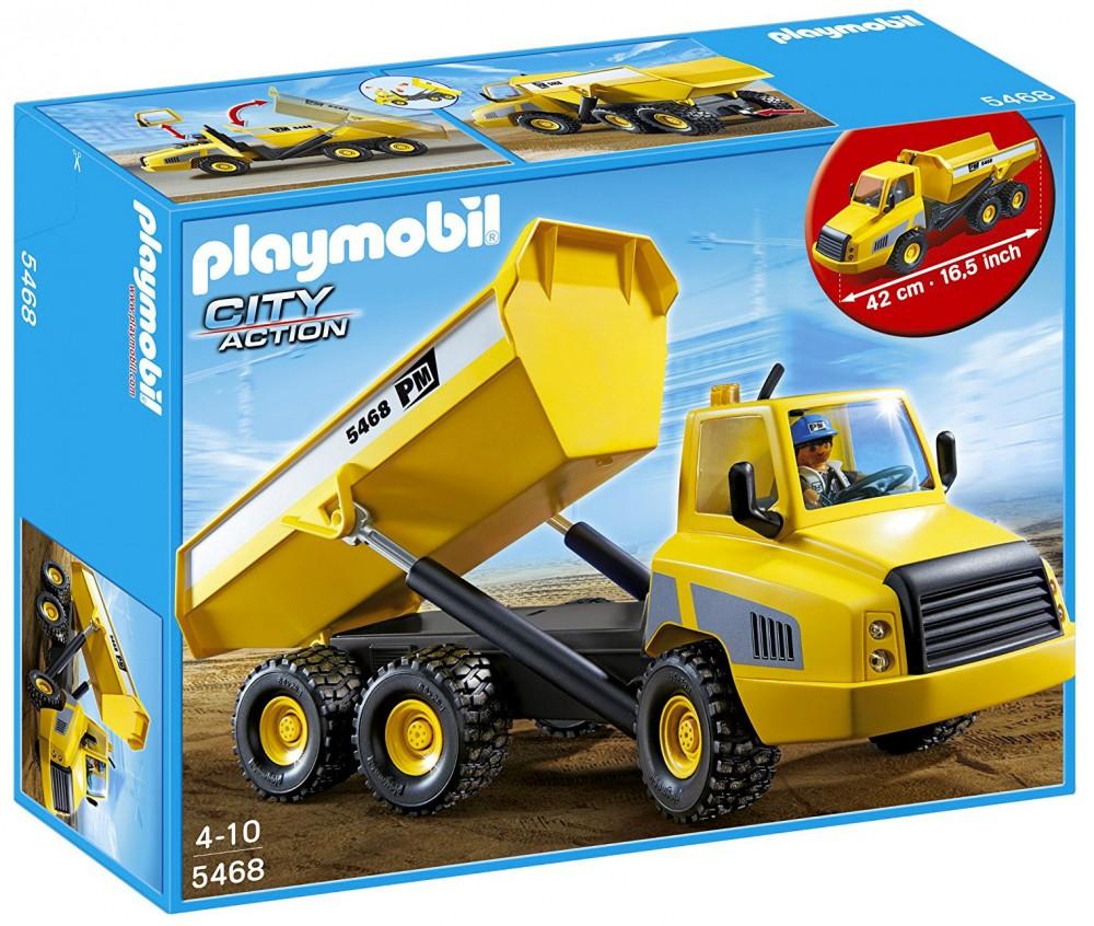 playmobil camion benne