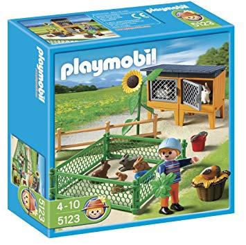 playmobil lapin