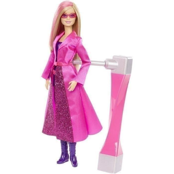 poupée barbie agent secret