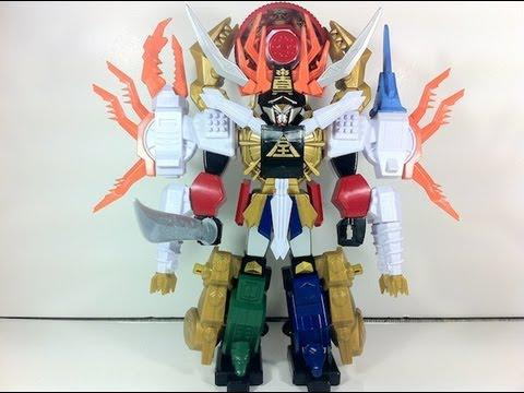 robot power rangers super samurai
