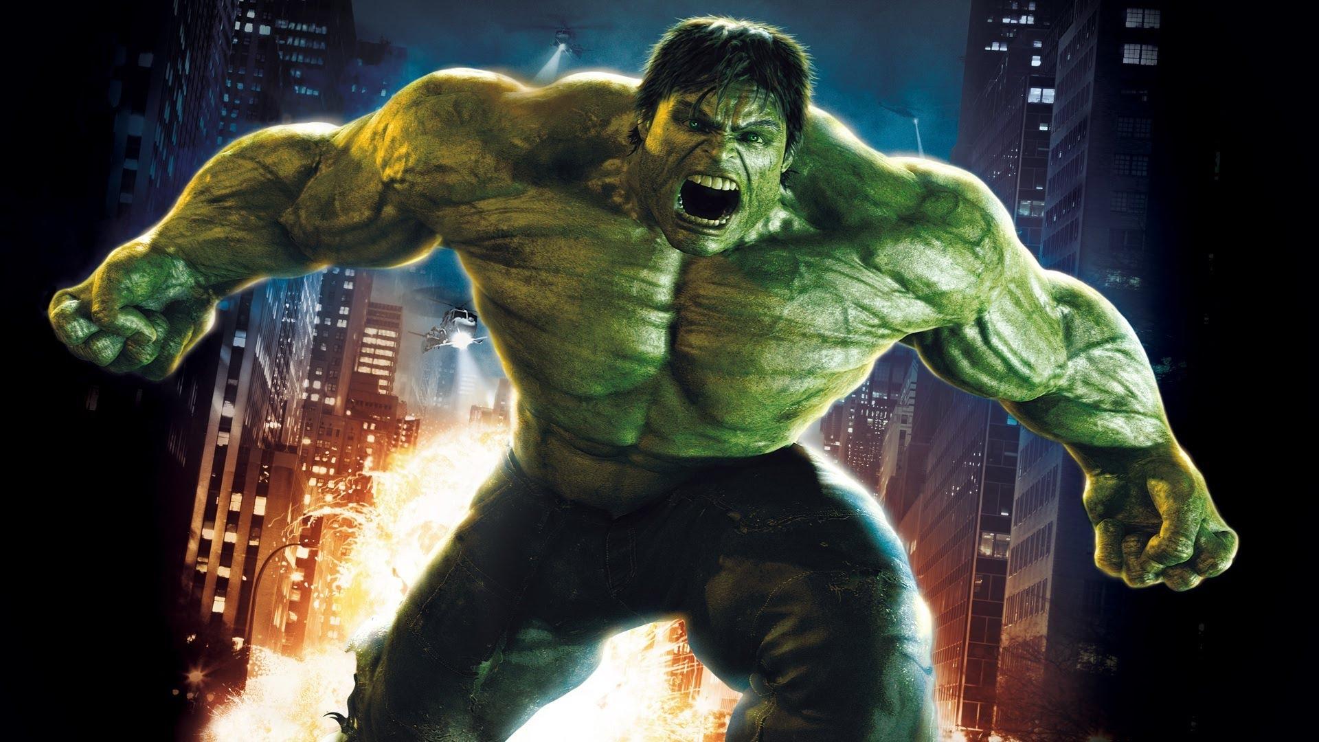 super héros hulk
