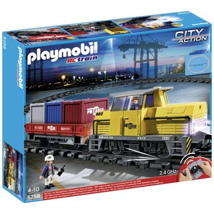 train marchandise playmobil