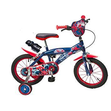 vélo garçon 14 pouces spiderman