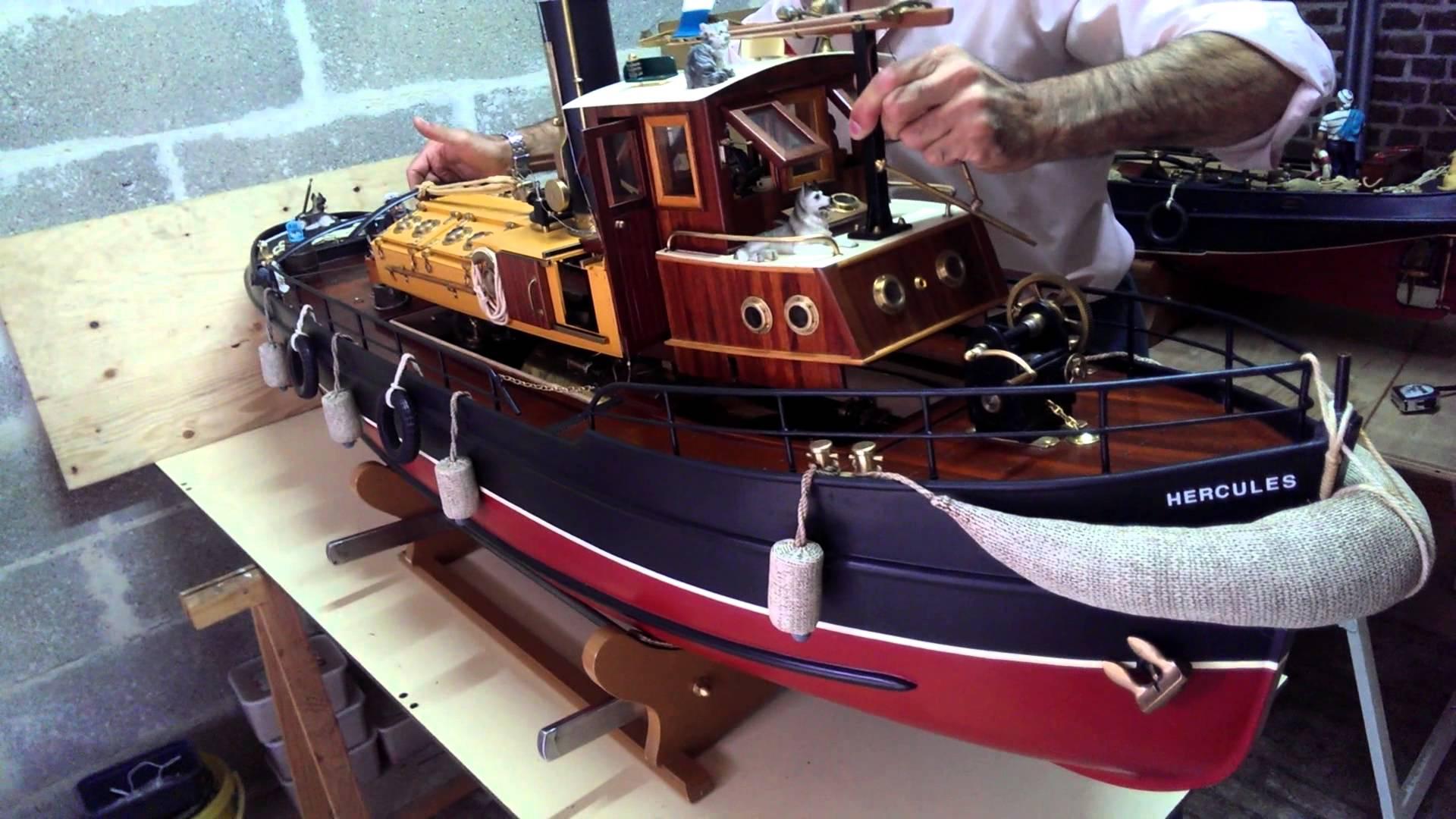 bateau vapeur modelisme
