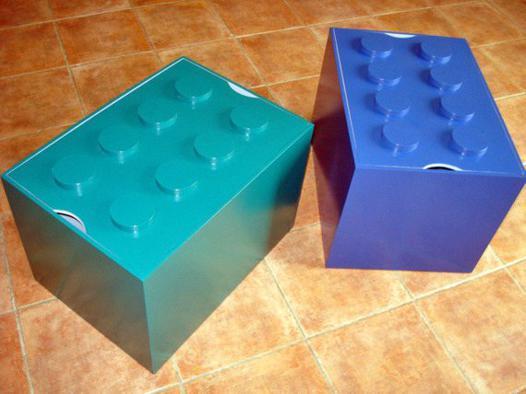 coffre a jouet lego
