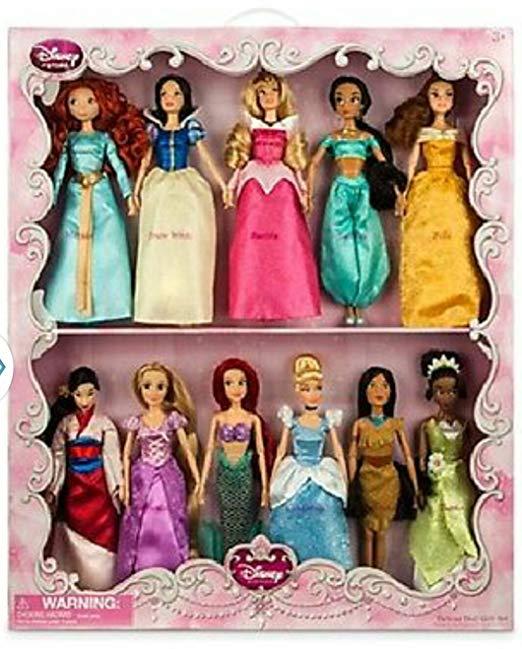 coffret 11 princesses disney