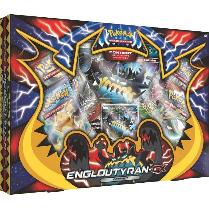 coffret carte pokemon gx