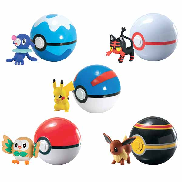 coffret clip n carry pokeball