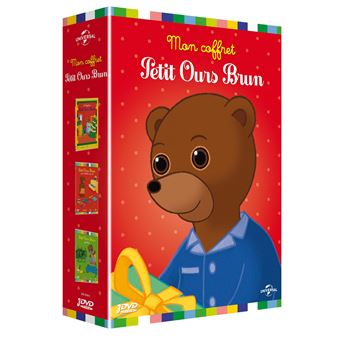 coffret dvd petit ours brun