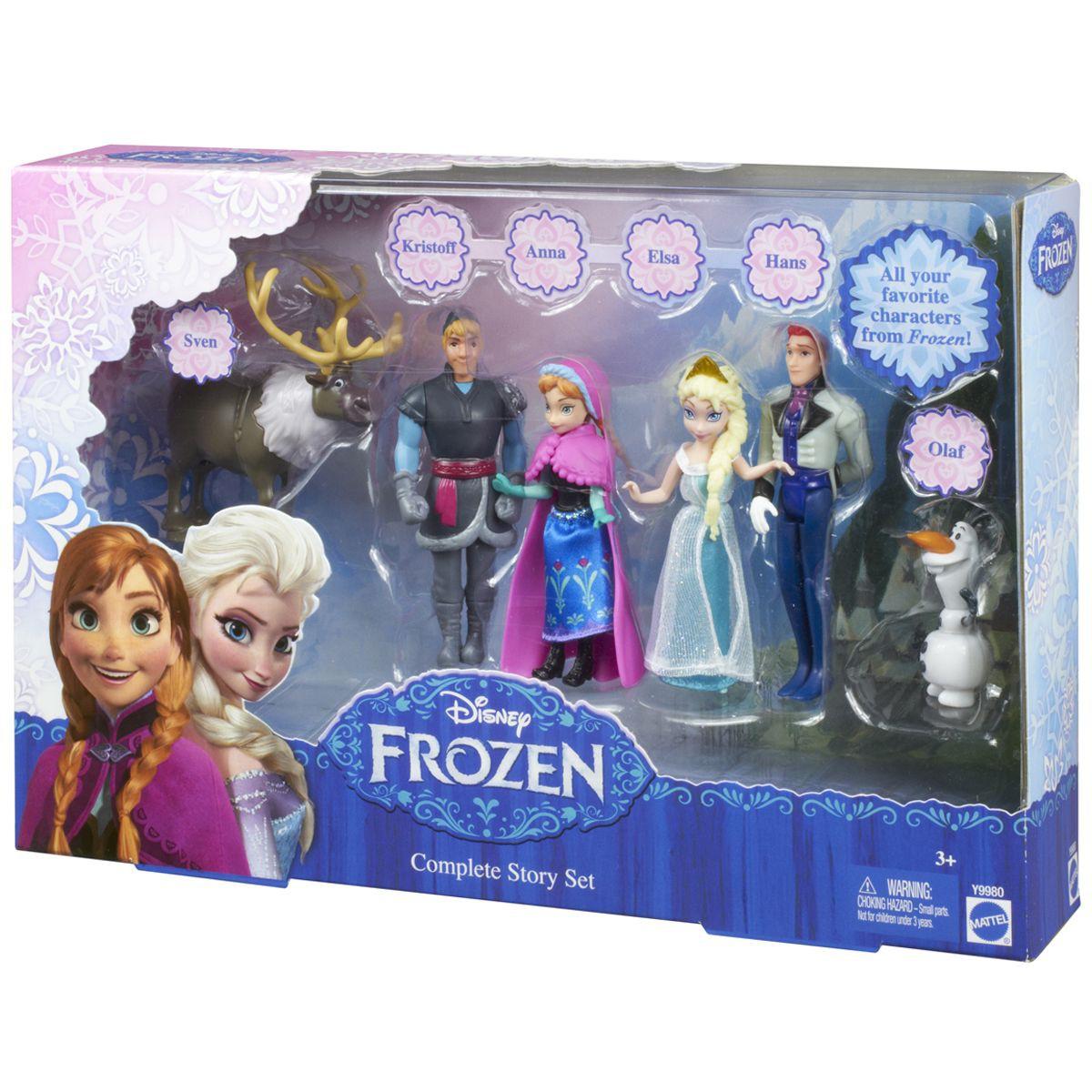 coffret la reine des neiges