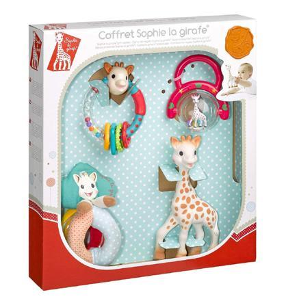 coffret naissance sophie la girafe