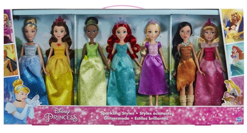 coffret princesses disney