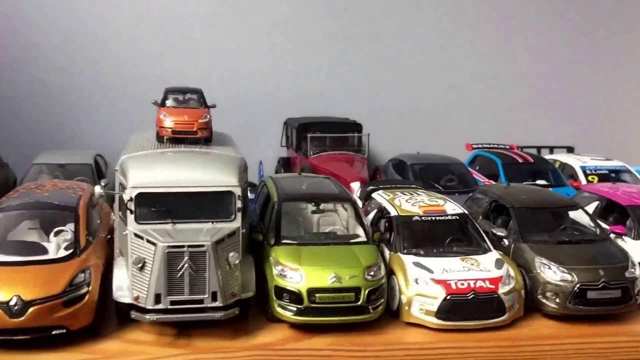 collection de voiture miniature