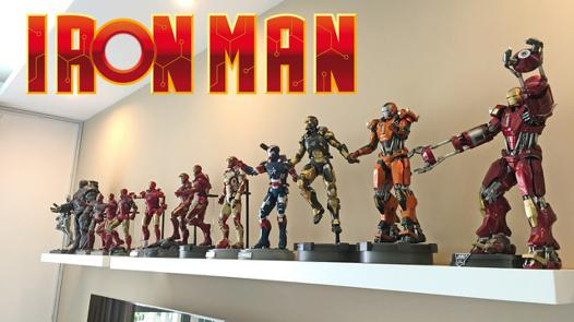 collection iron man