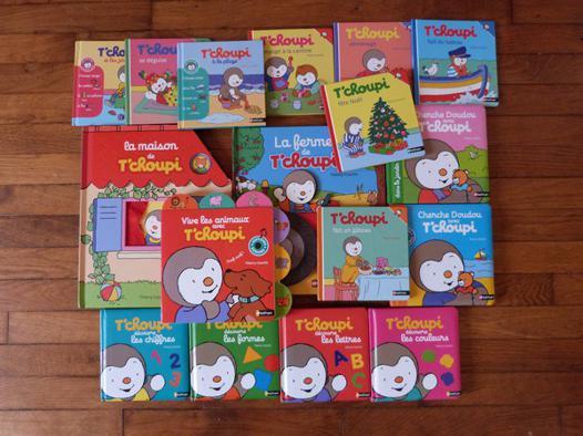 collection livre tchoupi